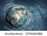Conceptual Image With Earth...