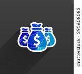 vector money bags easy to edit...
