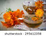 Herbal Tea With Marigold...