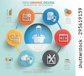 database admin and technology... | Shutterstock .eps vector #295619159