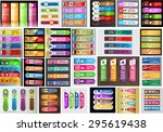 colorful modern text box... | Shutterstock .eps vector #295619438