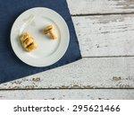 assorted arabic sweets blue | Shutterstock . vector #295621466