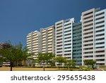 rise apartment | Shutterstock . vector #295655438