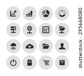 development  soft icons... | Shutterstock .eps vector #295668080