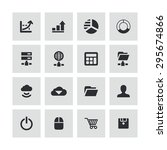development  soft icons... | Shutterstock .eps vector #295674866