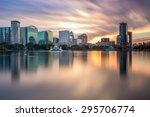 orlando  florida  usa skyline... | Shutterstock . vector #295706774