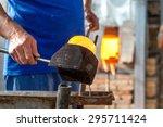handmade figures of melted... | Shutterstock . vector #295711424