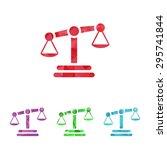 vector illustration of business ... | Shutterstock .eps vector #295741844