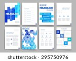 brochure design template set....