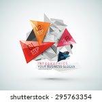 triangle shape modern paper