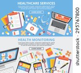 healthcare services  health... | Shutterstock .eps vector #295767800