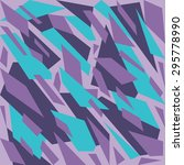 geometric camouflage pattern... | Shutterstock .eps vector #295778990