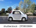autonomous self driving  drive  ... | Shutterstock . vector #295803884