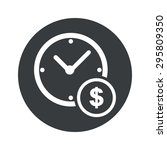 image of clock and dollar...