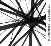random  overlapping lines.... | Shutterstock .eps vector #295820180
