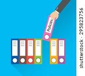 flat design style modern vector ... | Shutterstock .eps vector #295823756