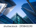 office building in london ... | Shutterstock . vector #295843190