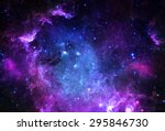 starfield   elements of this... | Shutterstock . vector #295846730