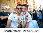 rome  italy   june 11 2011.... | Shutterstock . vector #295878254
