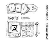 wireframe ui kit. web design...