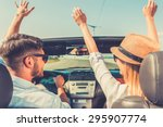 carefree time together. rear... | Shutterstock . vector #295907774