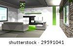 modern room design | Shutterstock . vector #29591041