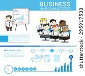 modern business infographic | Shutterstock .eps vector #295917533