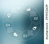 vector circle arrows for...   Shutterstock .eps vector #295922639
