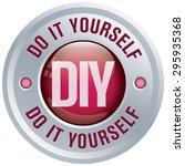 diy icon  do it yourself button ...   Shutterstock .eps vector #295935368