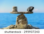Well Balanced Of Pebbles On Th...
