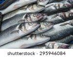Fresh Raw Mackerel Fish In The...