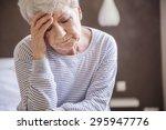morning migraine is my biggest...   Shutterstock . vector #295947776