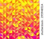 vector seamless triangle... | Shutterstock .eps vector #295948514