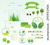 tree info graphics | Shutterstock .eps vector #295951904