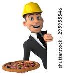 fun architect   Shutterstock . vector #295955546