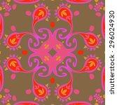 Circular Seamless  Pattern Of ...