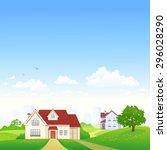 vector illustration of a... | Shutterstock .eps vector #296028290