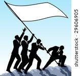 illustration of businessmen...   Shutterstock . vector #29606905