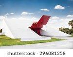sao paolo  brazil   april 21 ... | Shutterstock . vector #296081258