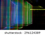 abstract colored lights motion... | Shutterstock . vector #296124389
