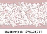 delicate transparent seamless... | Shutterstock .eps vector #296136764