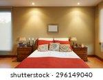 interior design  classic bedroom | Shutterstock . vector #296149040