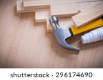 Wooden Planks Claw Hammer...