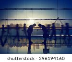 business people respect... | Shutterstock . vector #296194160