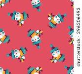 santa claus flat icon  eps10...   Shutterstock .eps vector #296206493