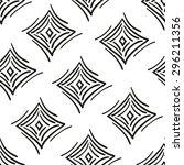 seamless pattern abstract... | Shutterstock . vector #296211356
