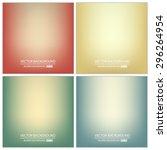 abstract creative concept... | Shutterstock .eps vector #296264954