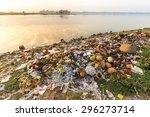 Rubbish Pollution With Plastic...