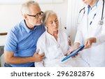 medicine  age  health care and... | Shutterstock . vector #296282876