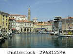 piran  slovenia   july 04 ... | Shutterstock . vector #296312246